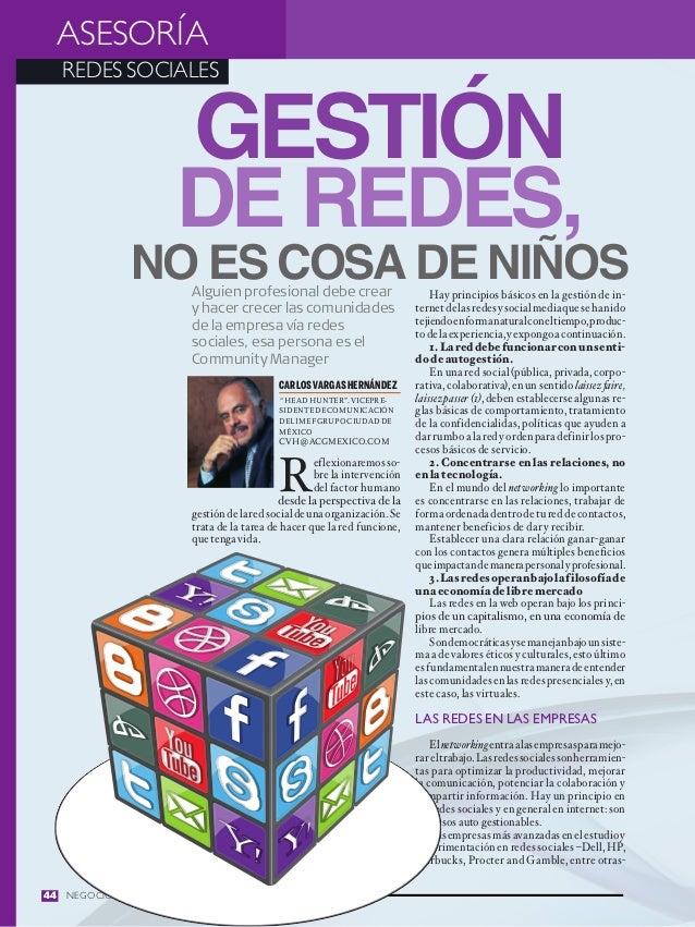 ASESORÍA  REDES SOCIALES                         Gestión                    de redes,             no es cosa de niños     ...