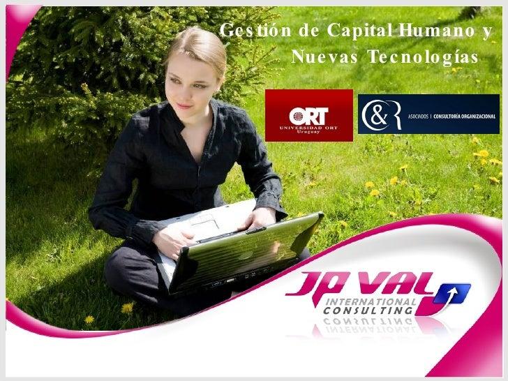 Gestión de Capital Humano y Nuevas Tecnologías