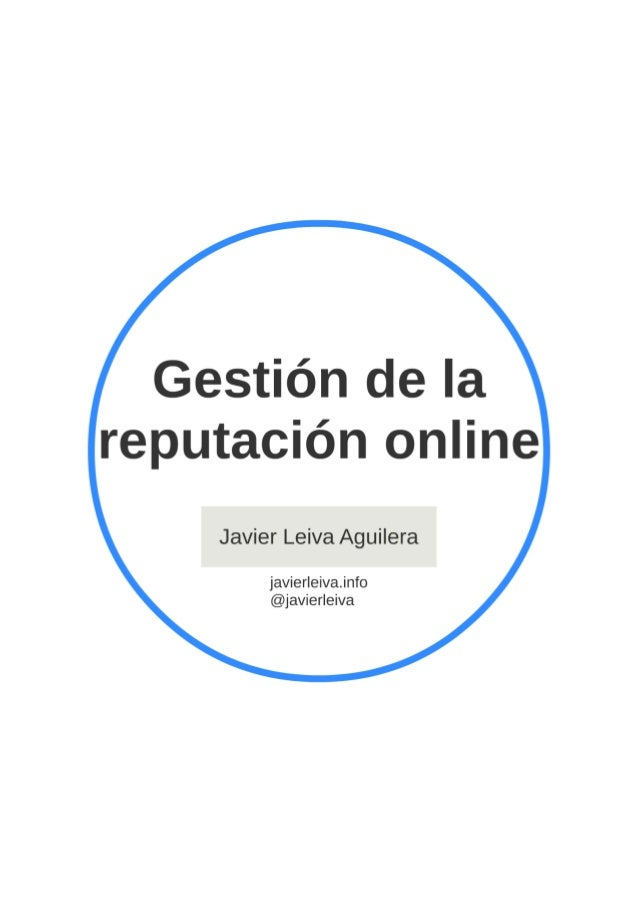 Gestion reputacion online