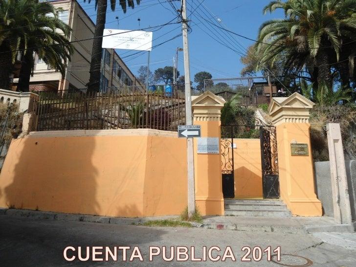 INFORME DE SEGUIMIENTO DE LA      GESTIÓN ESCOLAR       PARA LICEOS DE  ADMINISTRACIÓN DELEGADA          AÑO 2011ESTABLECI...