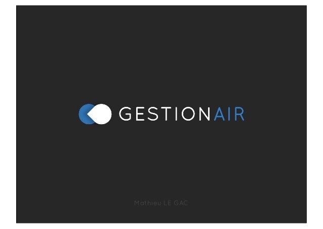 Gestionair Présentation Startup Factory #2