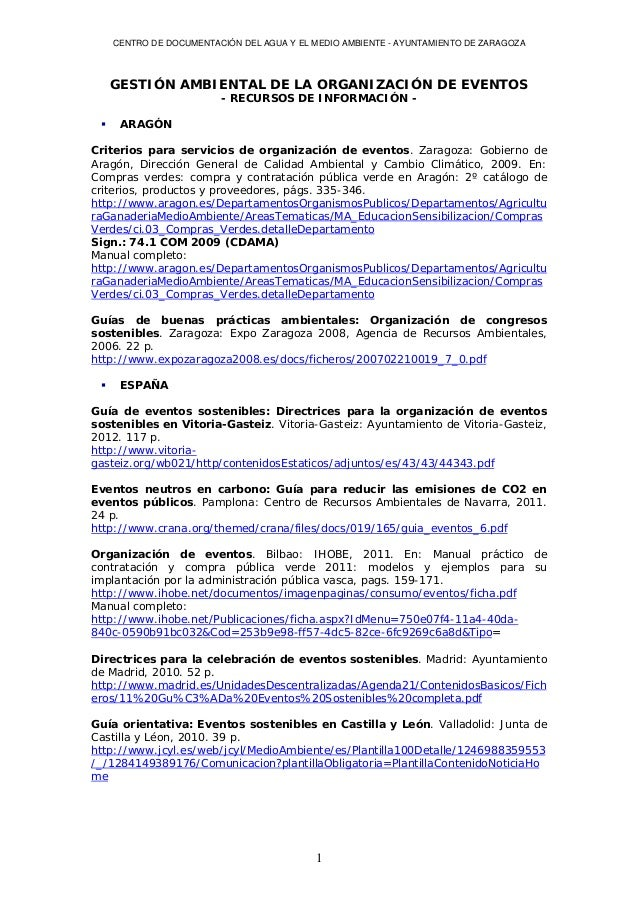 Gestion ambiental eventos_expo