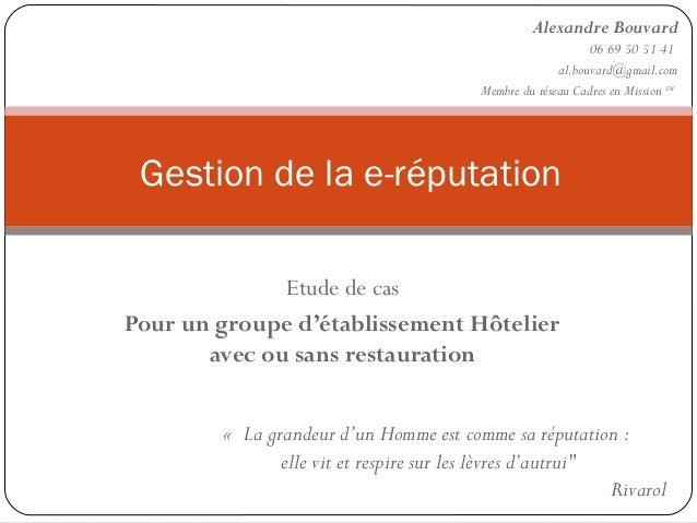 Alexandre Bouvard                                                              06 69 50 51 41                             ...