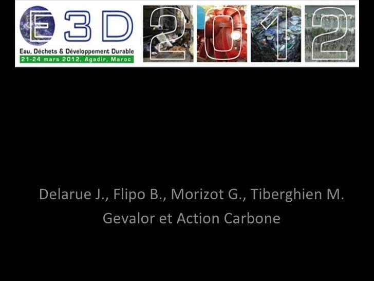 Gestion des om et financements carbone   agadir2012