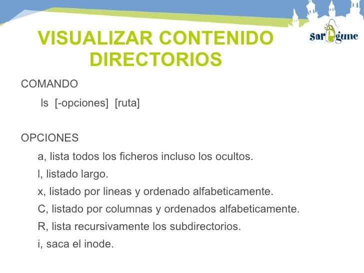 Gestion directorios