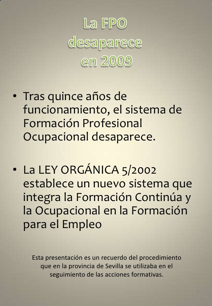 Gestion Fpo