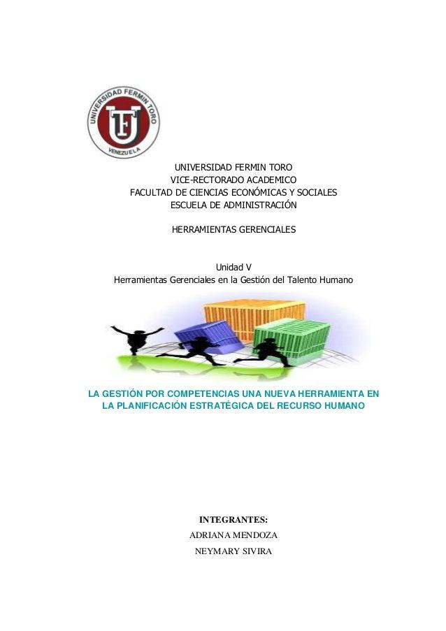 UNIVERSIDAD FERMIN TORO               VICE-RECTORADO ACADEMICO       FACULTAD DE CIENCIAS ECONÓMICAS Y SOCIALES           ...