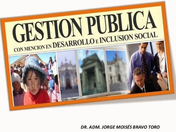 Gestion public iv 27 febrero