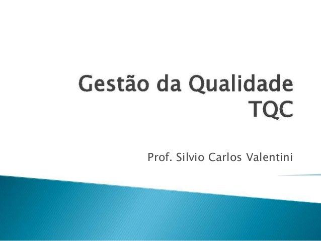 Prof. Silvio Carlos Valentini