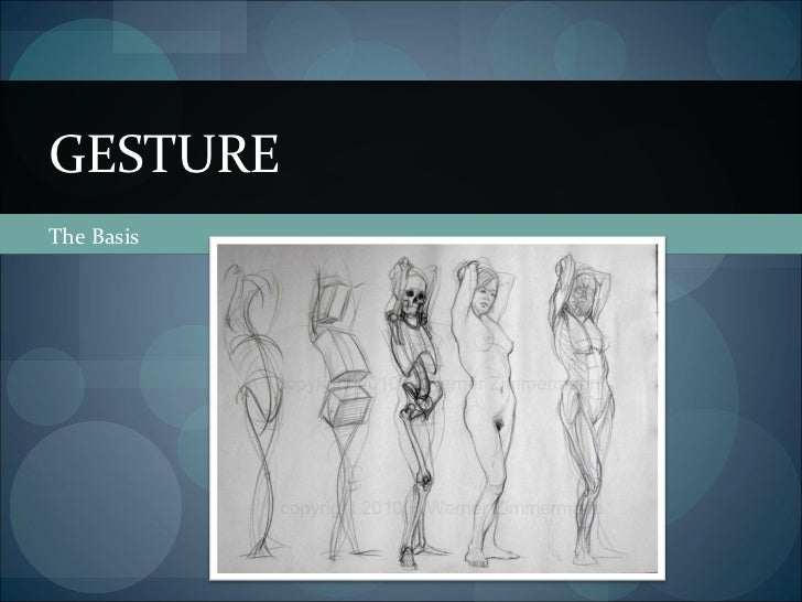 Gesture and Gender Proportions