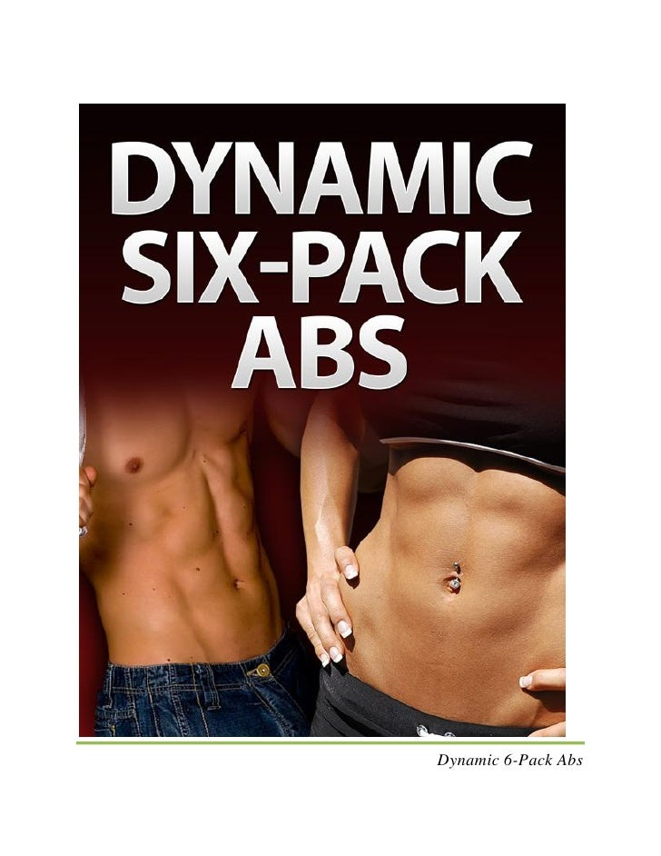 how to get a defined 6 pack