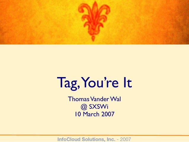 Tag You're It - from SXSW 2007