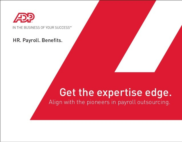 Adp payroll outsourcing benefits