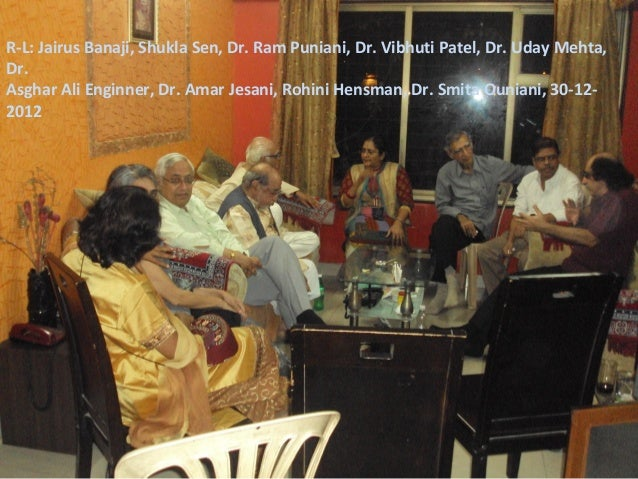 Get to-gather at dr. uday mehta's flat 30-12-2012