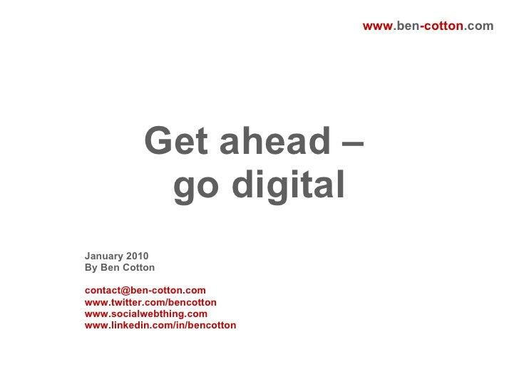 Get Ahead - Go Digital