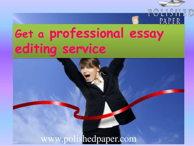 Professional Essay Editing Service