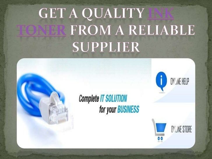 Get a quality ink toner from a reliable supplier cartridges  etoners.com.au