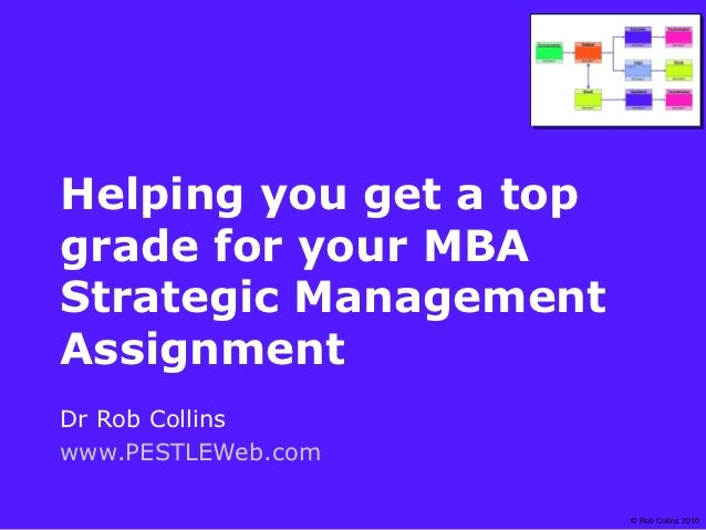 Get a top grade for your mba strategic management assignment