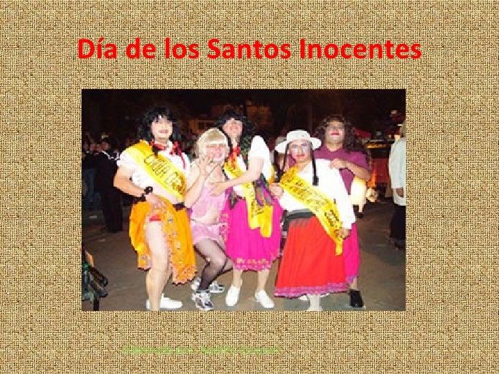 Día de los Santos Inocentes Elaborado por: Andrés Vásquez