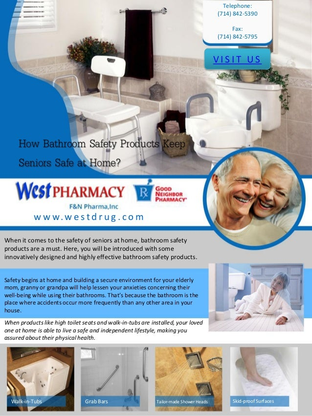 get bathroom safety products for seniors at west pharmacy