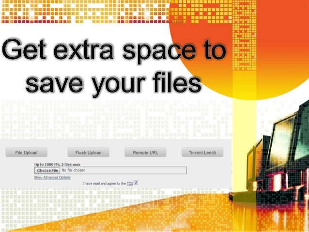 Get extra space to save your files