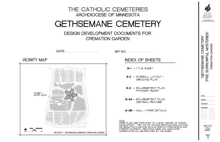 Gethsemane Garden Construction Document
