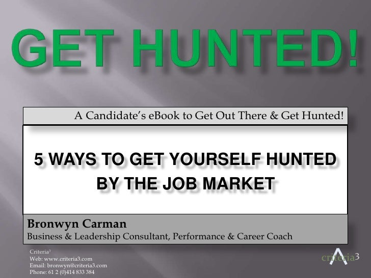 Get Hunted!