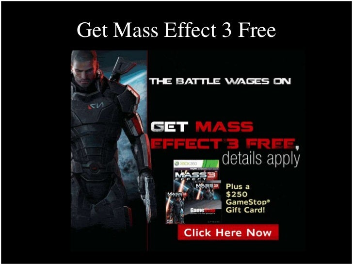 Get Mass Effect 3 Free