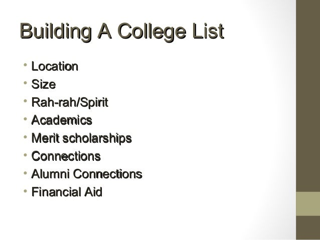 Help with finding the college for me?!?