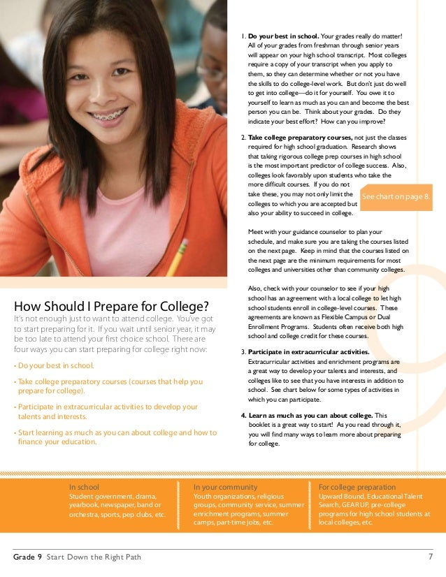 Will colleges look at the grades from first marking period of freshmen year?