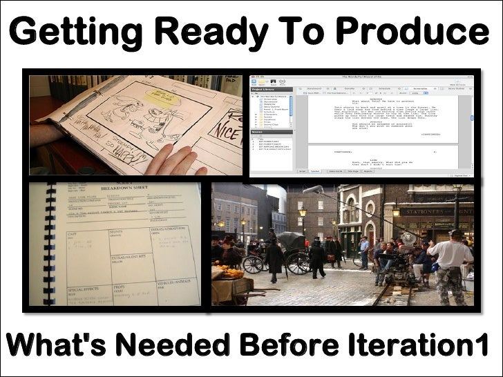 Get Ready For Your First Iteration
