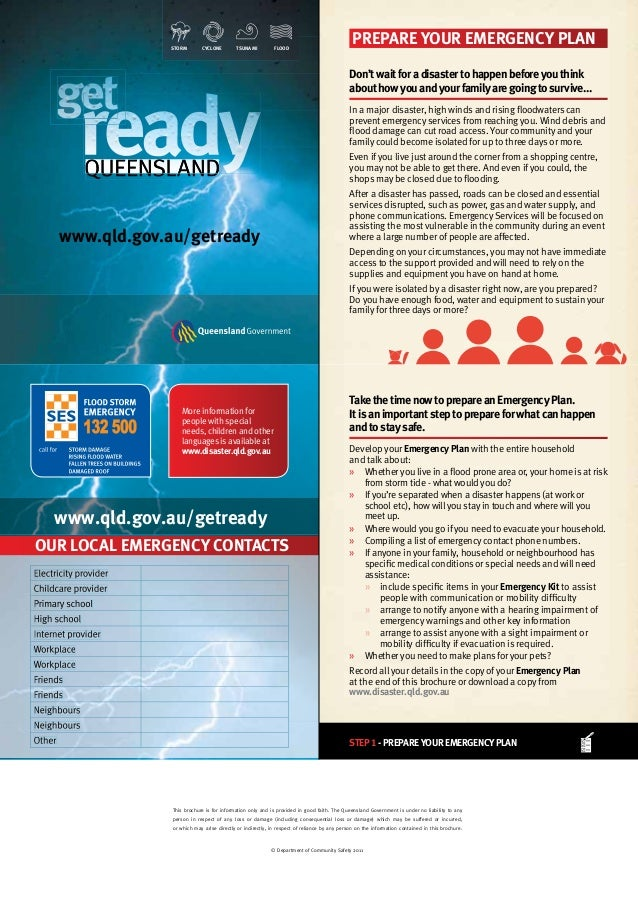 Get Ready Queensland 2013