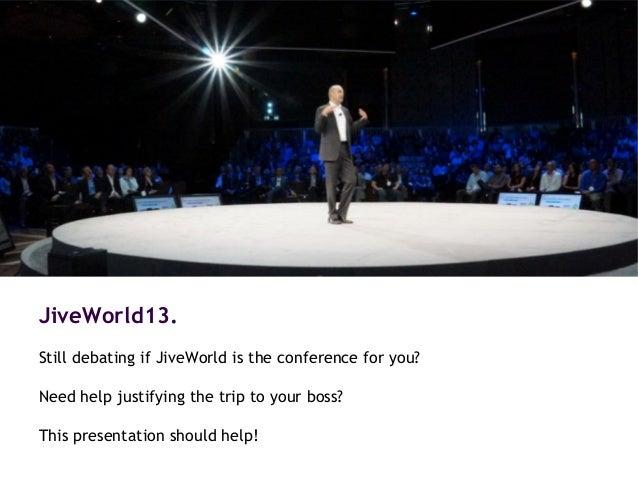 Get Real at JiveWorld