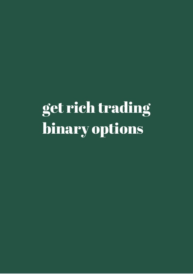 Can i get rich trading options