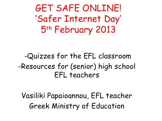 Get safe online! Celebrate internet safer day with online quizzes
