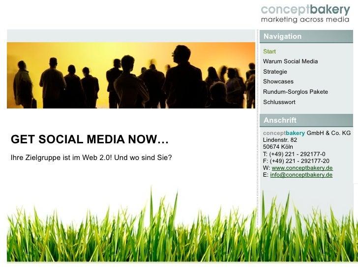 GetSocialMediaNow.de - Baukastensystem für Facebook, Twitter, YouTube & Co.
