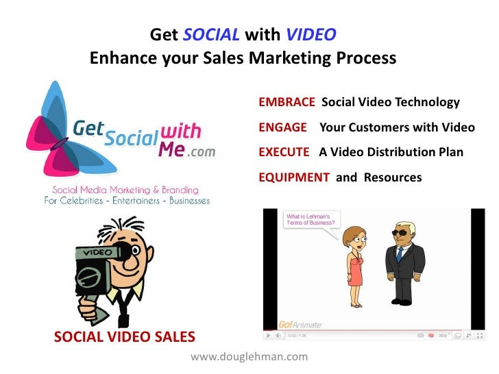 Get social with video marketing June 9 Social Selling Video