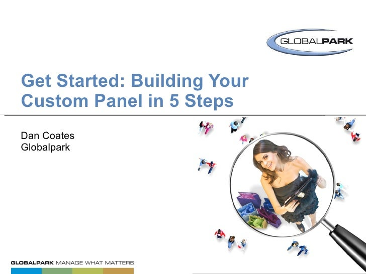 "GET STARTED: 5 STEPS TO BUILDING A CUSTOM PANEL<br />2 of 5 // PANEL COMMUNITY ""HOW TO"" SERIES<br />"