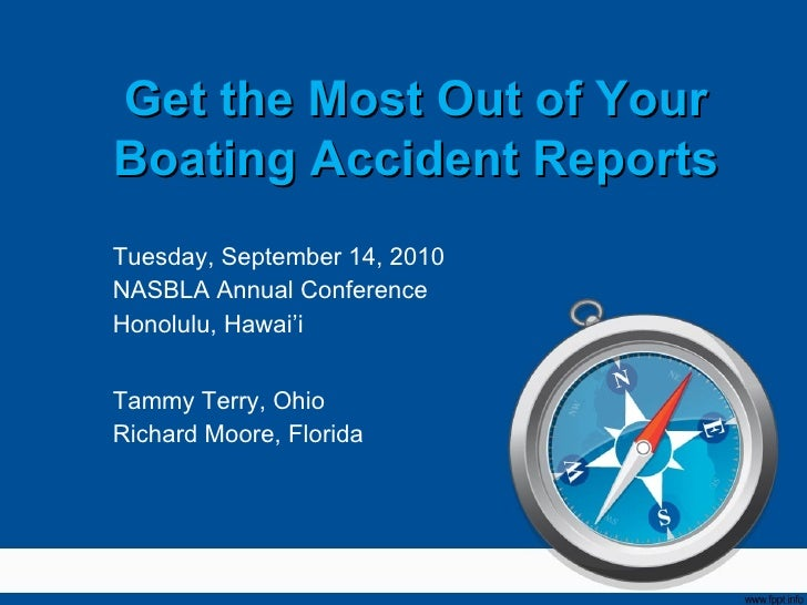 Get the most out of your accident reports