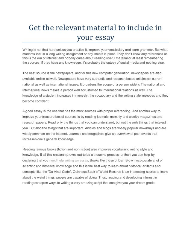 Custom Essay Writing College