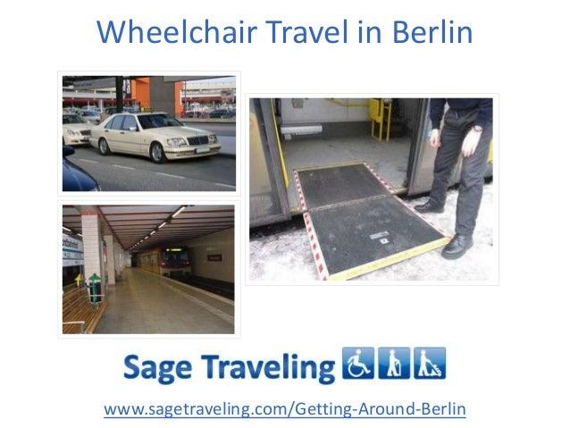 Wheelchair Travel in Berlin www.sagetraveling.com/Getting-Around-Berlin