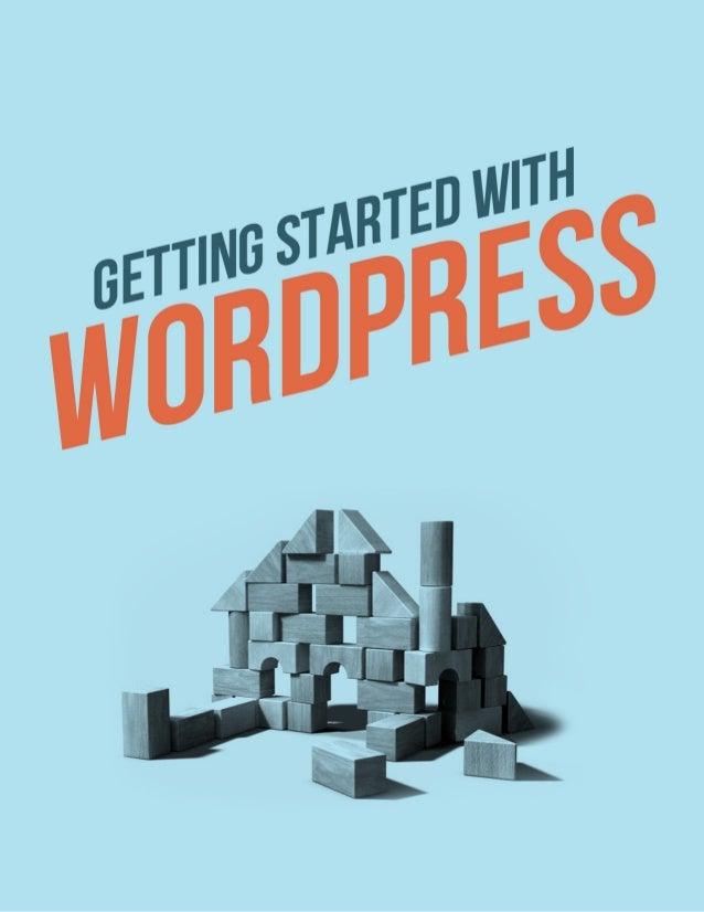 Wordpress E-bookGetting started-with-word press-ebook