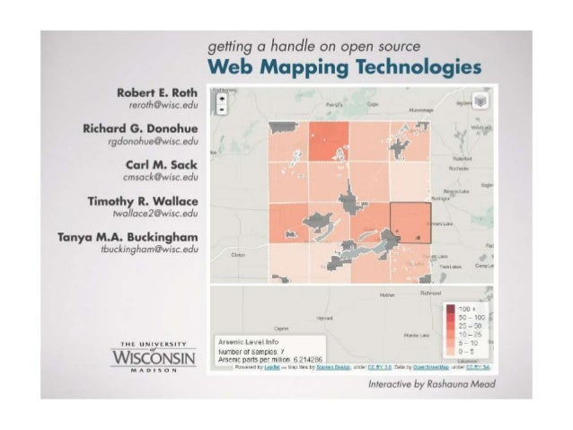 Getting a Handle on Open Source Web Mapping Technologies - Robert Roth