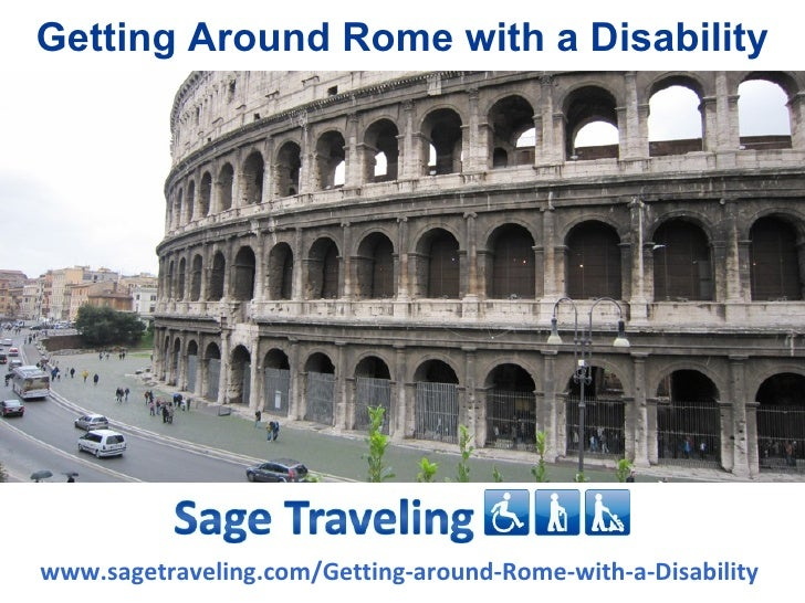 Getting Around Rome with a Disabilitywww.sagetraveling.com/Getting-around-Rome-with-a-Disability