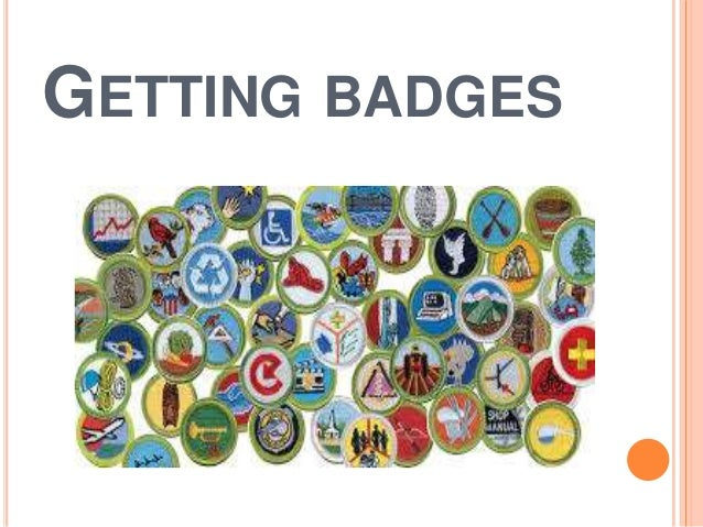 """Getting badges"" 9th grade"