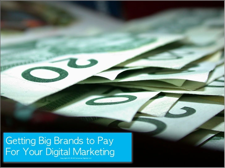 Getting Brands to pay for your Destination's Marketing Campaign