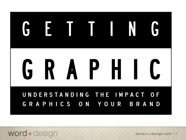 Getting Graphic: Understanding the impact of graphic design on branding and sales