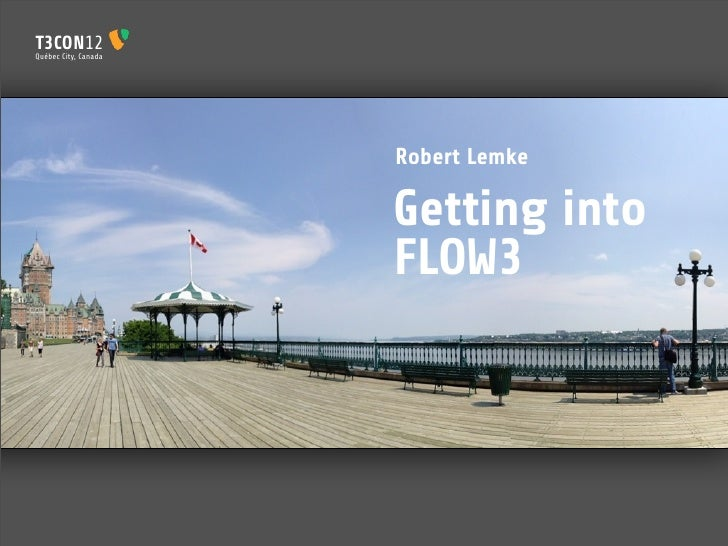 Getting Into FLOW3 (TYPO312CA)