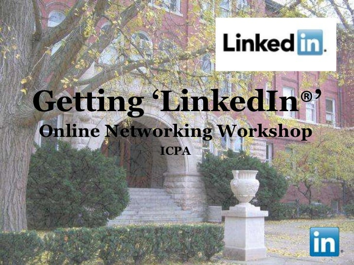 Getting 'Linked In' ICPA