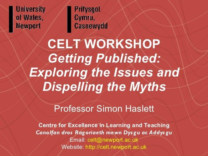 Getting Published Workshop